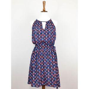 Pixley Tammi Printed Dress LG Sailboat Stitch Fix
